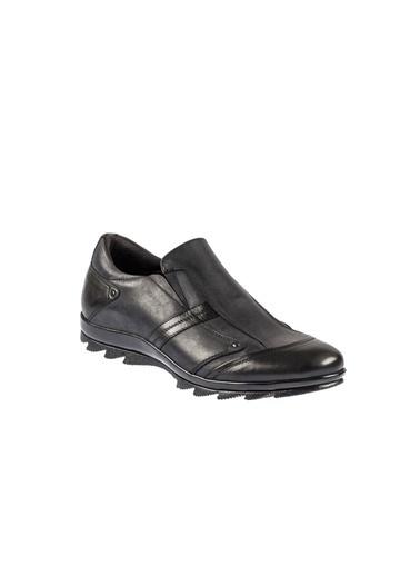 Fosco 3530 Kauçuk Taban Siyah Erkek (39-45) Günlük Ayakkabı Siyah